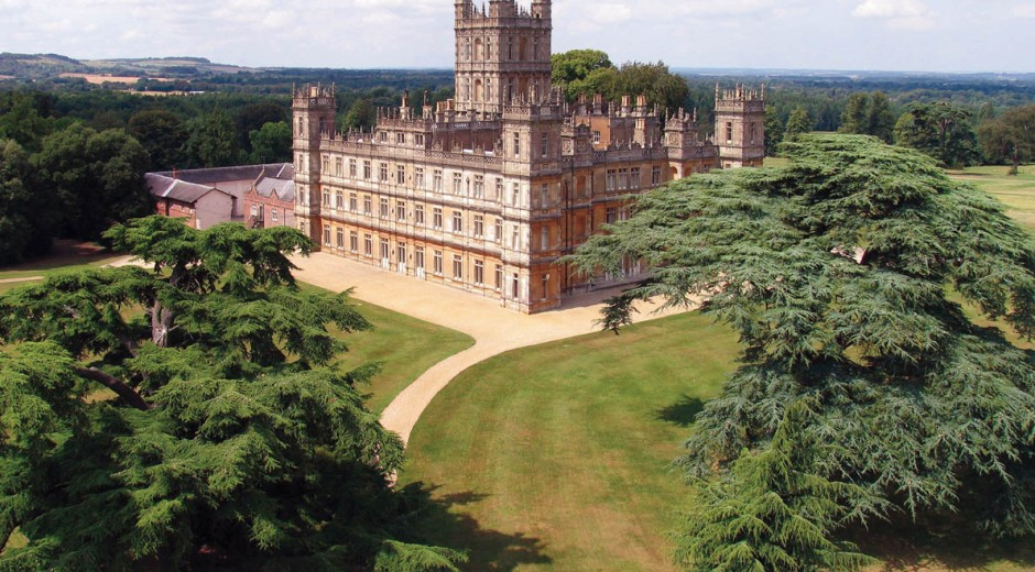 Jewels tours highclere castle downton abbey for Downton abbey tour tickets